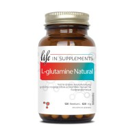Л-глутамин Натурал / L-Glutamine Natural - 120 капсули 620mg