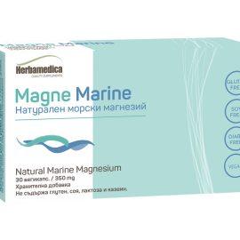Magne Marine - Натурален морски магнезий 30 капсули