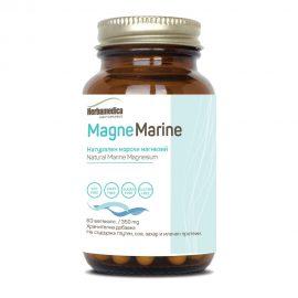 Magne Marine - Натурален морски магнезий 60 капсули