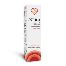 Акти Б12 Хидроксокобаламин / Akti B12 витамин Б12