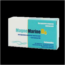 Магне Марин с витамин B6